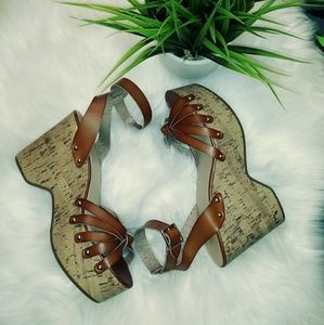 Size 10 Mossimo cork wedges